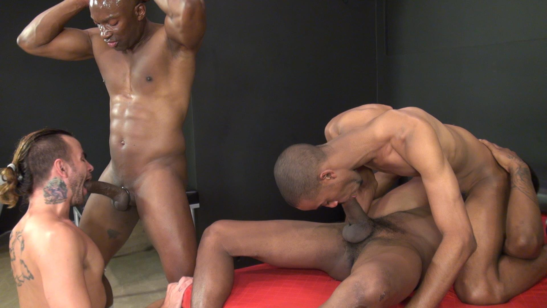 Raw-and-Rough-Champ-Robinson-Lukas-Cipriani-Knockout-Tigger-Redd-BBBH-Amateur-Gay-Porn-16 White Boy Gets A Breeding By Three Big Black Dicks