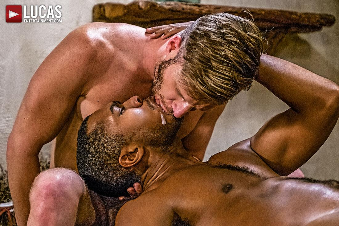 Lucas-Entertainment-Brian-Bonds-and-Sean-Xavier-Big-Black-Horse-Cock-Bareabck-14 Brian Bonds Takes Sean Xavier's Big Black Horse Cock Bareback