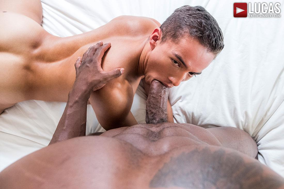 Lucas-Entertainment-Pheonix-Fellington-and-Dante-Lauro-Interracial-Big-Black-Cock-Bareback-Sex-Video-08 Pheonix Fellington Barebacks Dante Lauro With His Big Black Cock