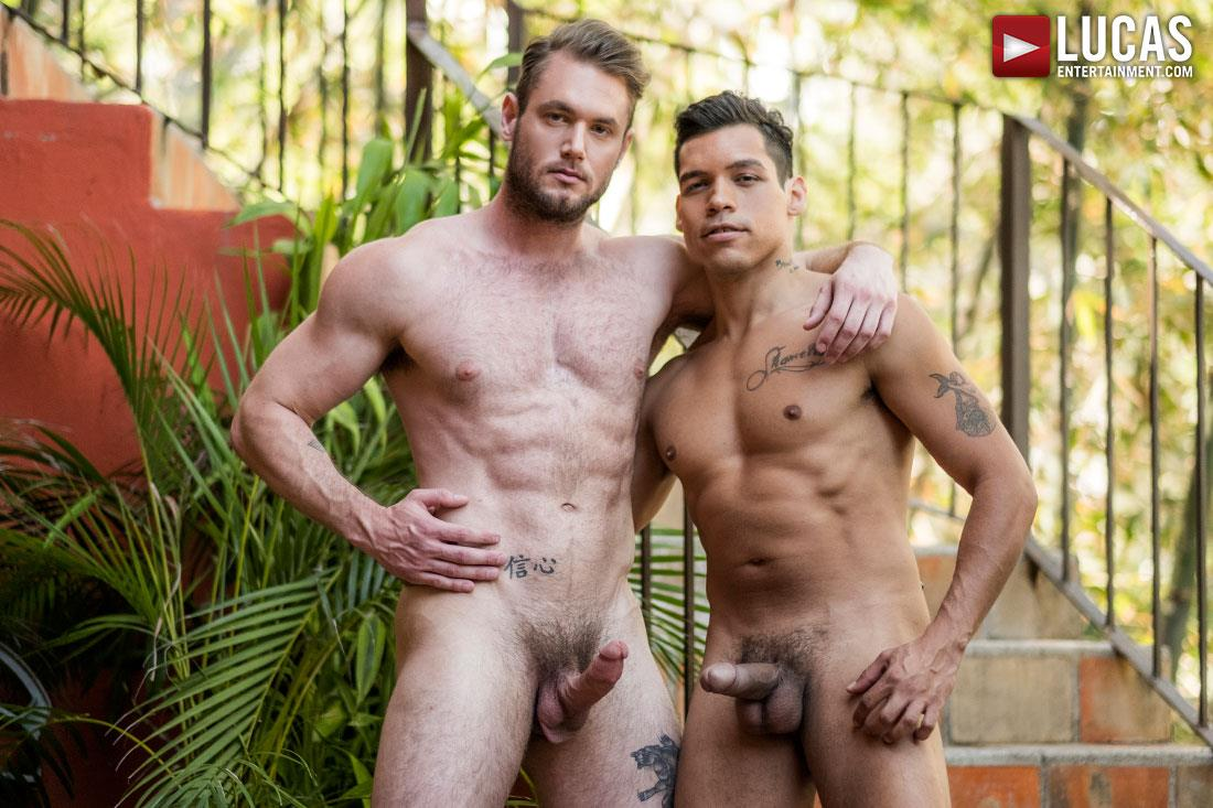 Lucas-Entertainment-Alejandro-Castillo-and-Ace-Era-Big-Uncut-Mexican-Cock-Bareback-Video-04 Hairy Muscle Hunk Takes A Big Uncut Mexican Cock Raw Up The Ass