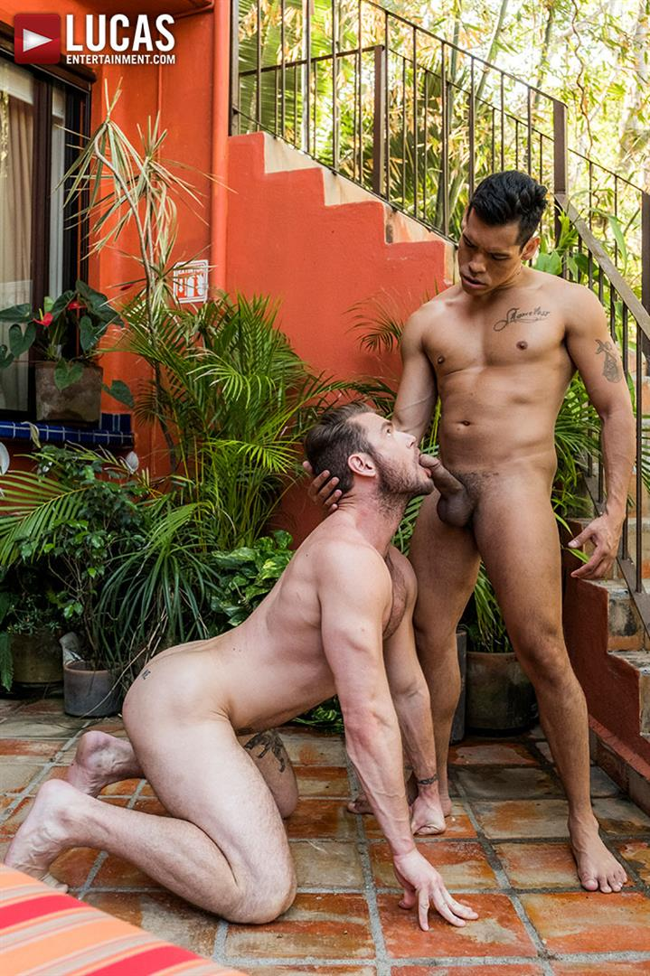 Lucas-Entertainment-Alejandro-Castillo-and-Ace-Era-Big-Uncut-Mexican-Cock-Bareback-Video-05 Hairy Muscle Hunk Takes A Big Uncut Mexican Cock Raw Up The Ass